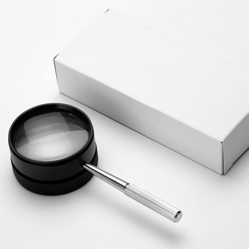Deutschland hochauflösende optische Glas - lesung MIT Metall, 35 mal schmuck, antiquitäten briefmarken identifizierung Lupe