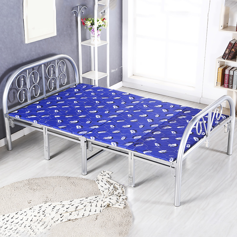 Folding bed, double bed nap bed, single bed bed, bed rest bed, 1.2 meters, 1 meters, 1.5 meters, 90cm package