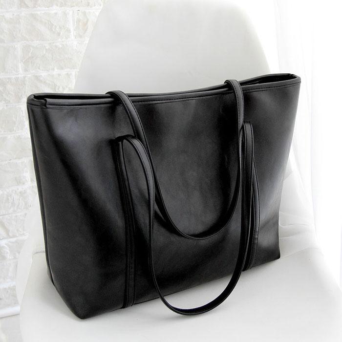 【天天特价】韩版复古潮女包购物袋简约托特大包包手提包单肩包