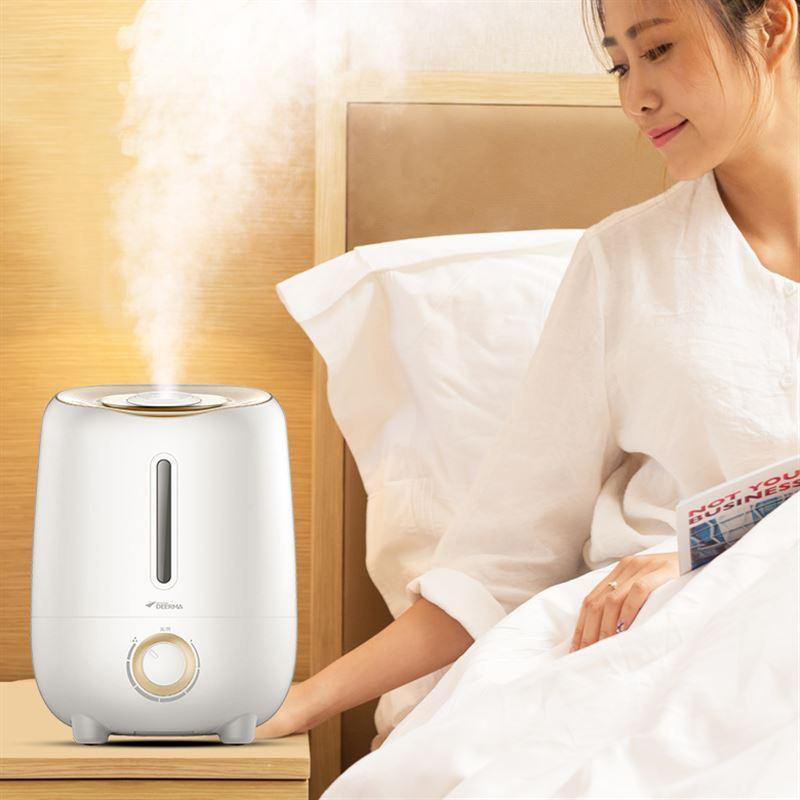 La Oficina de inteligencia de la aromaterapia Humidificador doméstico creativo de purificación de aire mini ultra silencioso de dormitorio