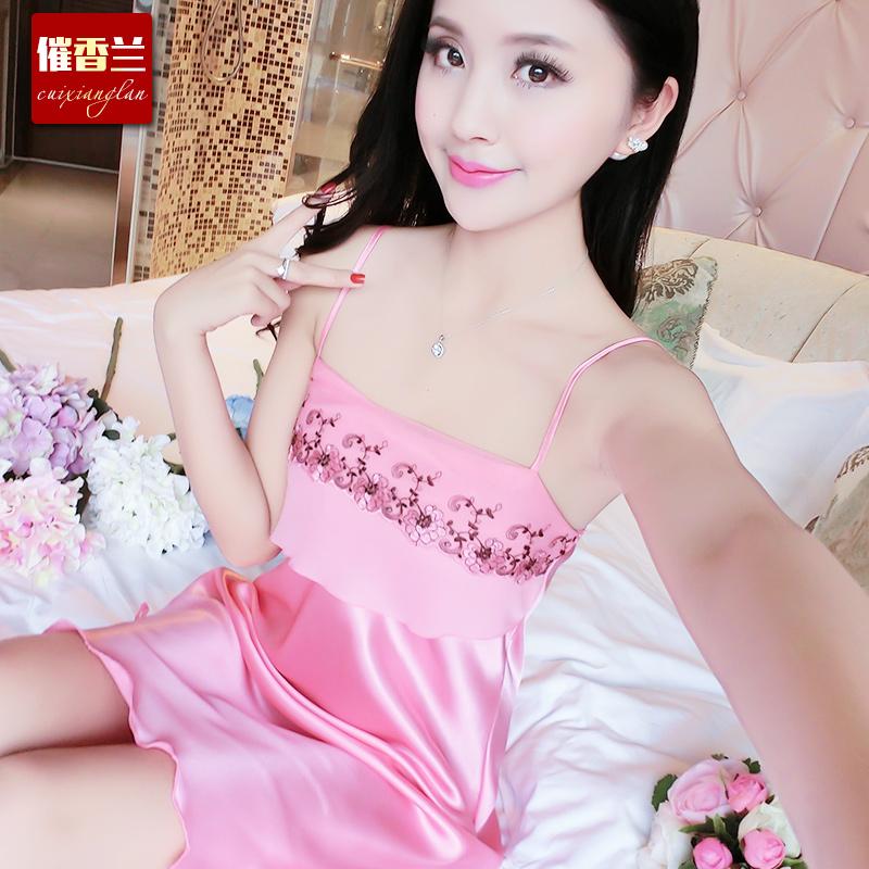 668西瓜红睡裙