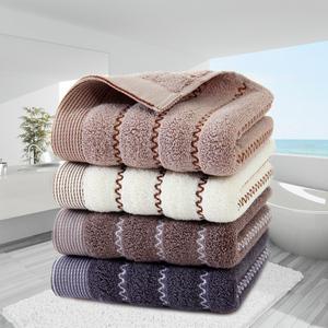 纯棉家用毛巾面巾2条装洗脸