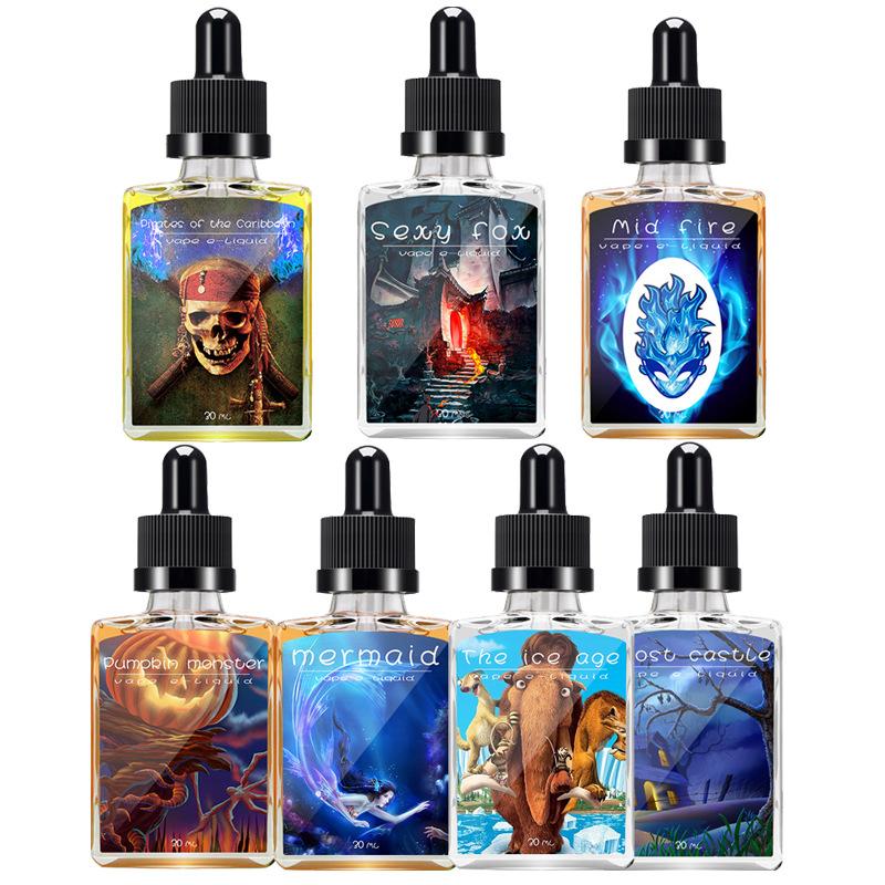 Ле - основной электронной дыма через Аутентичные 30ml пара фруктовый вкус табачного дыма табак малайский вытяжной большой нефти