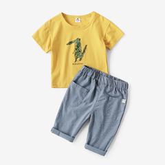 【买一送一,需拍2件,劵后立减】男童夏装短裤子2019新款儿童