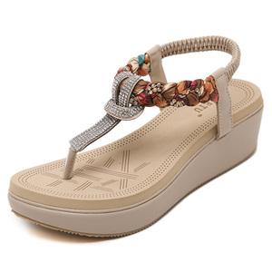 2017新款波西米亚女凉鞋666-2大量备货