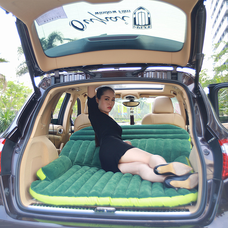 Pursuit cross-country SUV vehicle inflatable mattress, automobile supplies, car bed, self driving shock bed