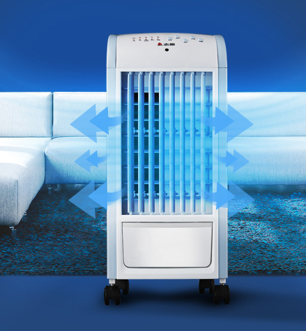 Small air conditioner, air conditioner, cooling and heating dual purpose remote control refrigerating fan, household water cooling fan, mobile small air conditioner