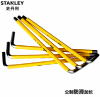 Original STANLEY metric non slip lengthened inner end six angle wrench, 6mm six corners 94-605-23