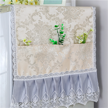 Lace open opaque fabric, a variety of artists home four seasons, desktop opaque refrigerator lattice dust cover
