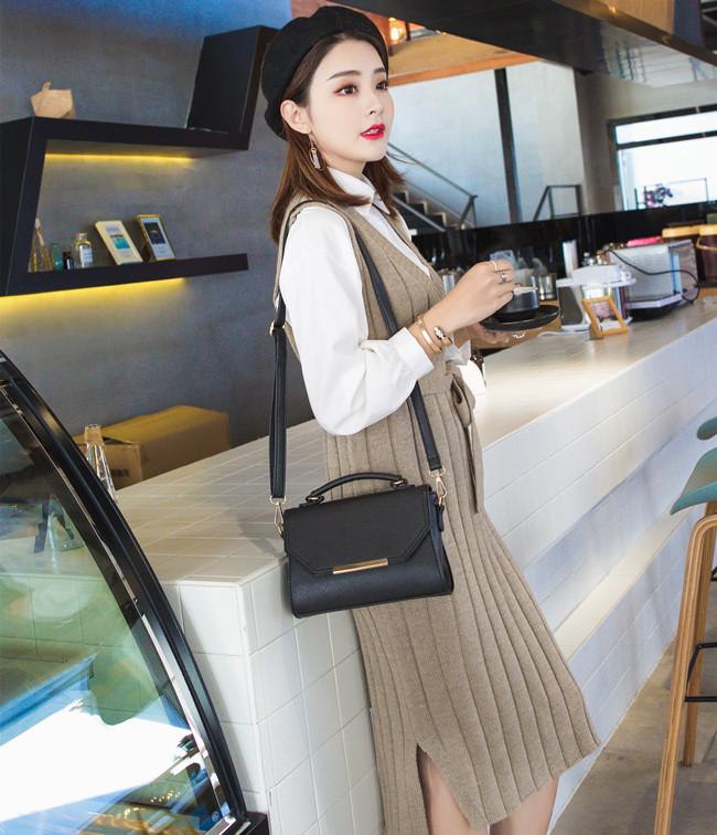 冬季小包包女士2017新款潮韩版单肩斜挎包女包时尚百搭大气手提包
