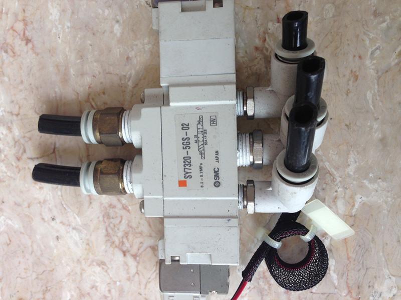 japonski uvoz SMCSY7320-5GS-02 uvoženih rabljenih razstaviti cax elektromagnetni ventil