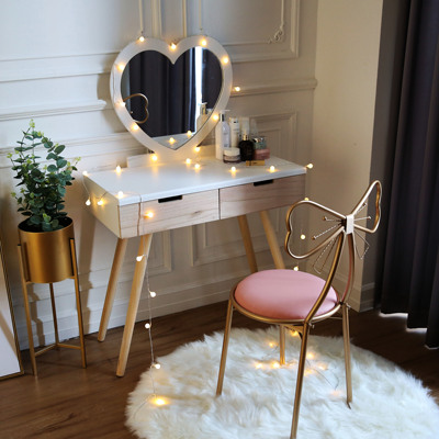 Dressing Table Princess Small apartment Bedroom Simple Dresser Table