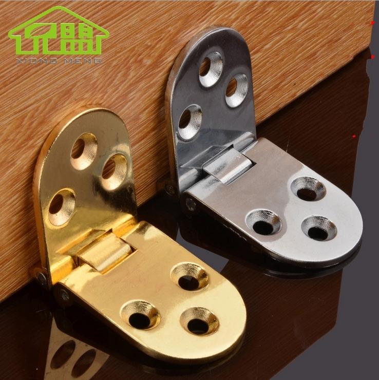 Folding plate, folding door, hinge, wooden table, hinge, hinge, hardware folding table, semicircle hinge, folding table hinge