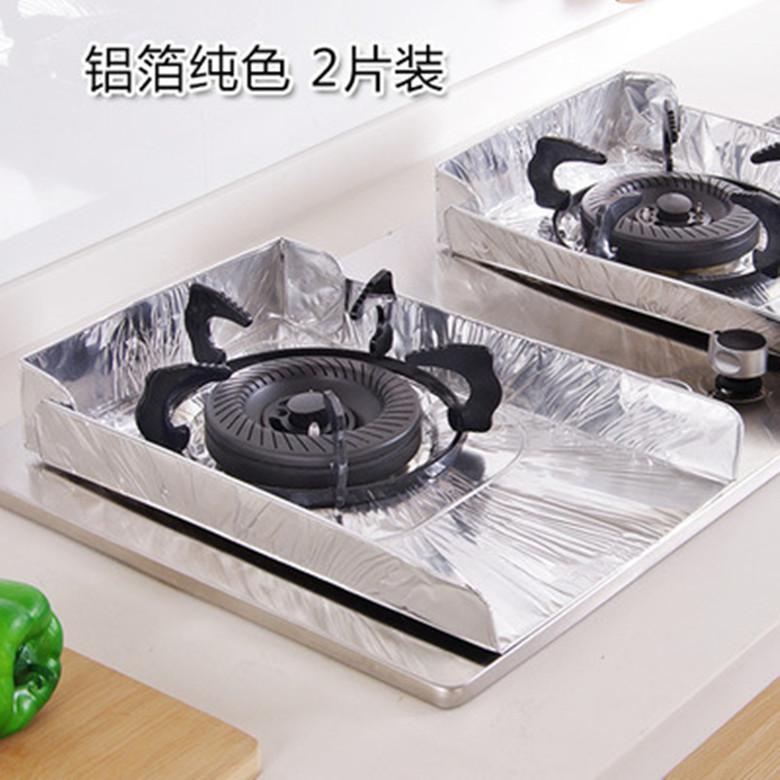ガスレンジ反油止め金ガスコンロレンジ反油にアルミ箔に片装キッチンかまど紙断熱マット