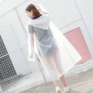 户外徒步登山旅行雨衣成人加厚男女防水骑行透明韩国时尚非一次性