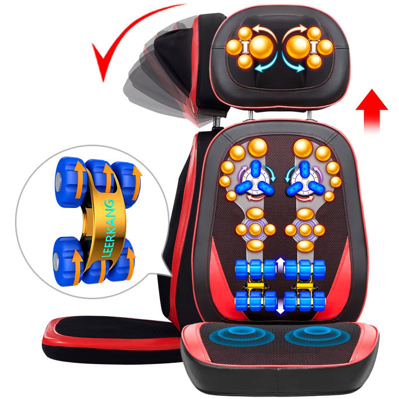全自動デラックス家庭用全身マッサージチェア多機能頸椎マッサージャー腰と背電動褥クッション