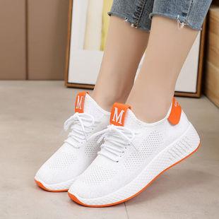 夏季飞织鞋新款单鞋韩版女鞋休闲