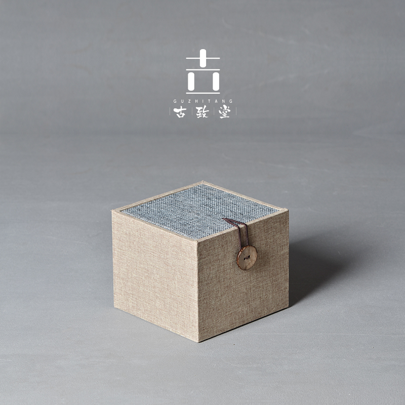 單個禮盒故由景德鎮茶杯包裝盒紙質精美茶杯禮盒 不含陶瓷只是空盒