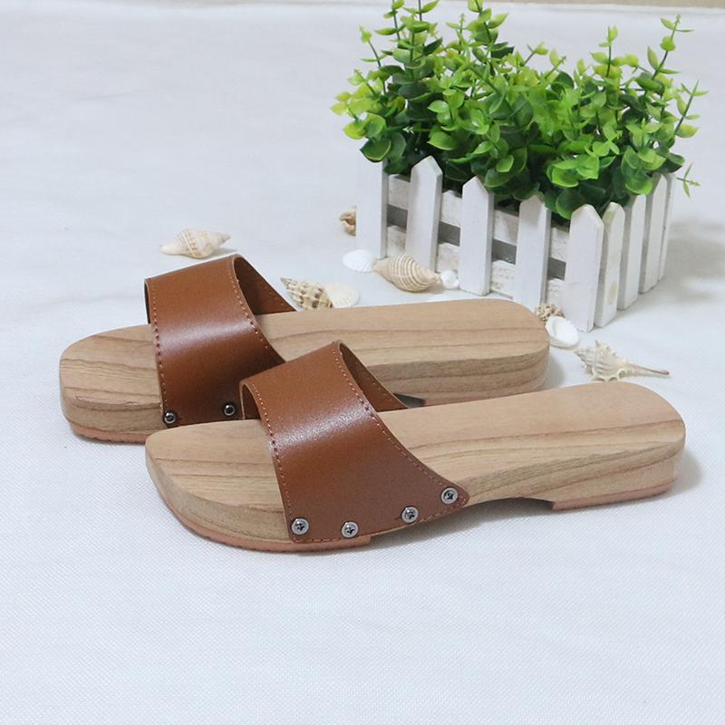 新品 木屐男女款 木拖鞋夏季 居家浴室低跟凉拖鞋 新款