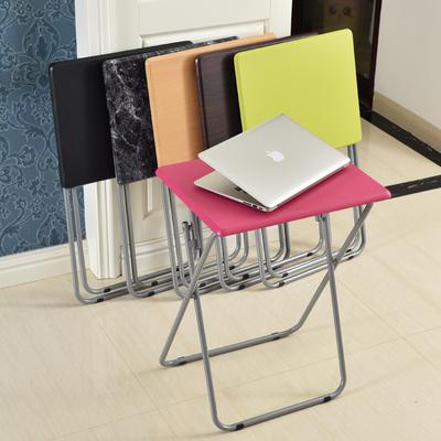 特价笔记本电脑桌可折叠宿舍懒人沙发边几彩色学生写字学习桌