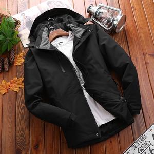 祖玛珑情侣款冲锋衣男装棉服冬季防寒加绒加厚女户外运动休闲棉衣