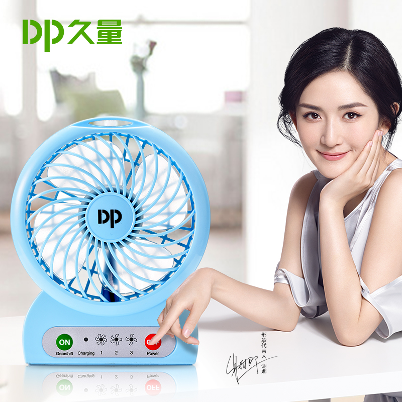 A lungo La Grande quantità di VENTO USB Mini ventilatore portatile di Batterie ricaricabili Desktop letto dormitorio Fan