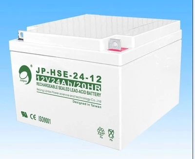 Jin Bo battery 12V24AH Jin Bo JP-HSE-24-12 battery UPS battery warranty for three years