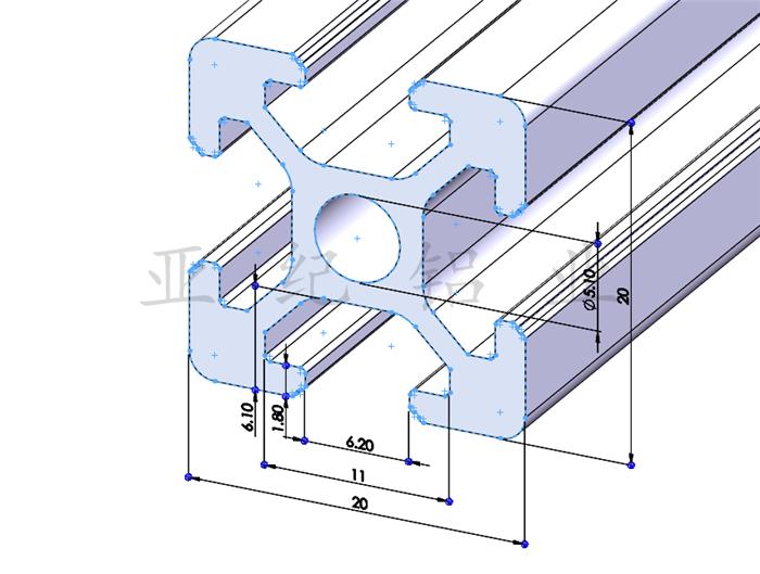 OB2020 промышленных алюминиевый профиль алюминиевый профиль 2020 промышленных алюминиевых профилей рамок рамки 2020 алюминиевый профиль алюминиевый профиль