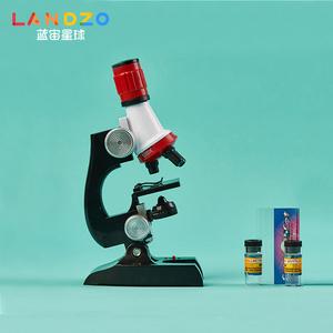 儿童光学显微镜高倍微生物小学生科普学习玩具1200倍高清实验礼物