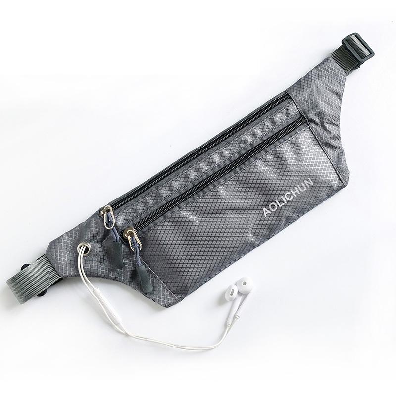 超薄运动跑步腰包男女户外手机包旅行便携贴身小腰包徒步包休闲包
