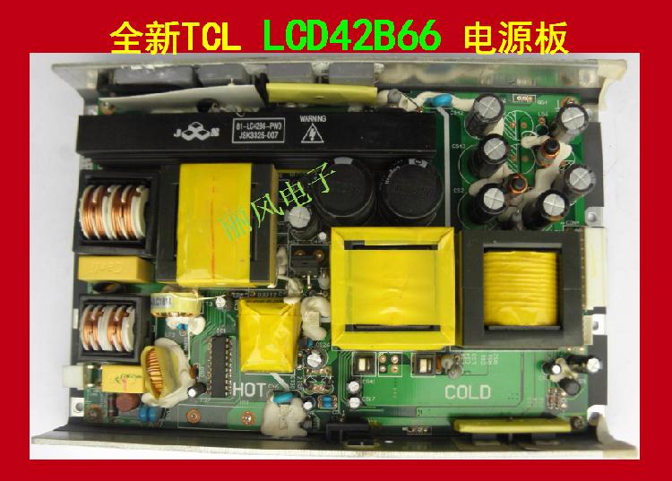 De nieuwe TV - 81-LC42B6-PW0 TCLLCD42B66 stroomaansluiting JSK3325-007 LCD - onderdelen