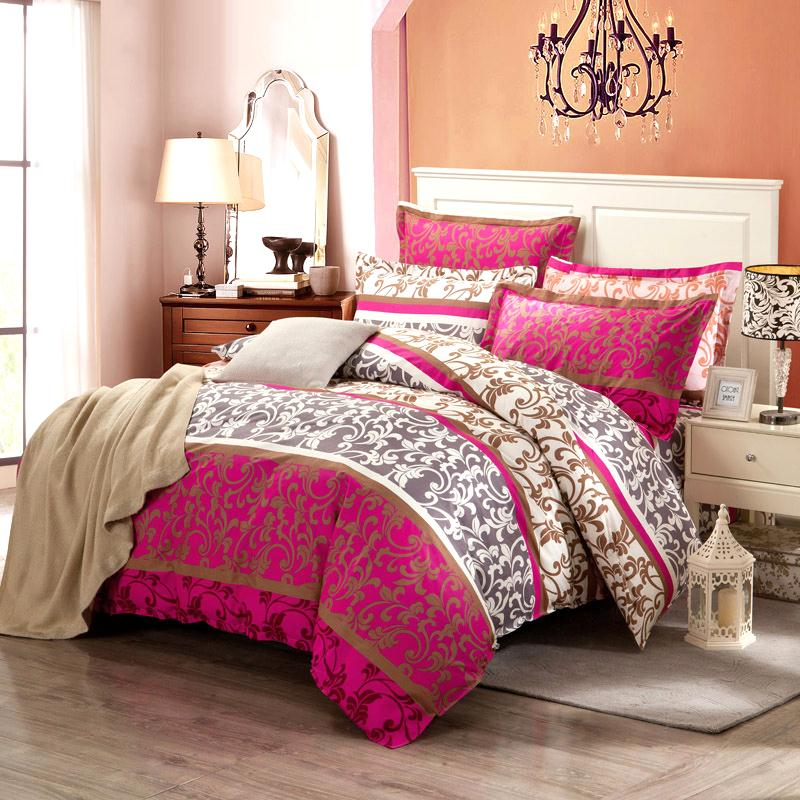 Quilt four sets of cotton cotton European summer bed naked 1.8m meters and the wind in summer double bed Tencel