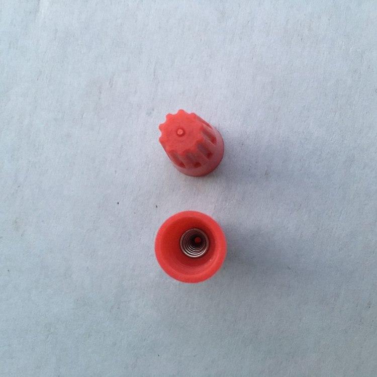 вращающийся терминал закрытый терминал шапка P1 спираль весной тип провода шапка терминал автомобильной связи шапка