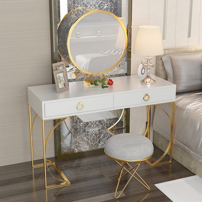 Dressing Table bedroom dresser small apartment makeup table simple modern princess luxury