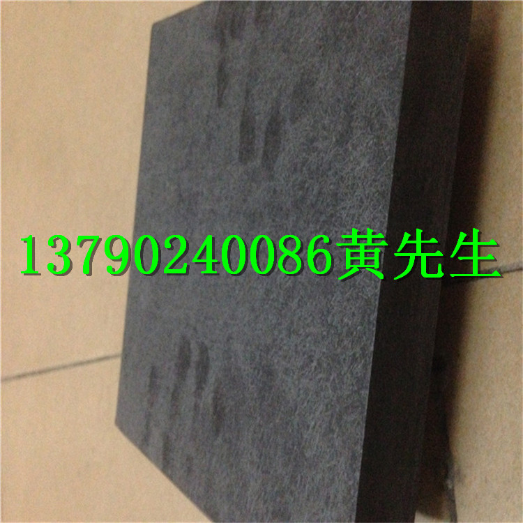 Imported synthetic stone chipping resistant high temperature zero mold insulation board black flame retardant anti-static synthetic stone 25mm