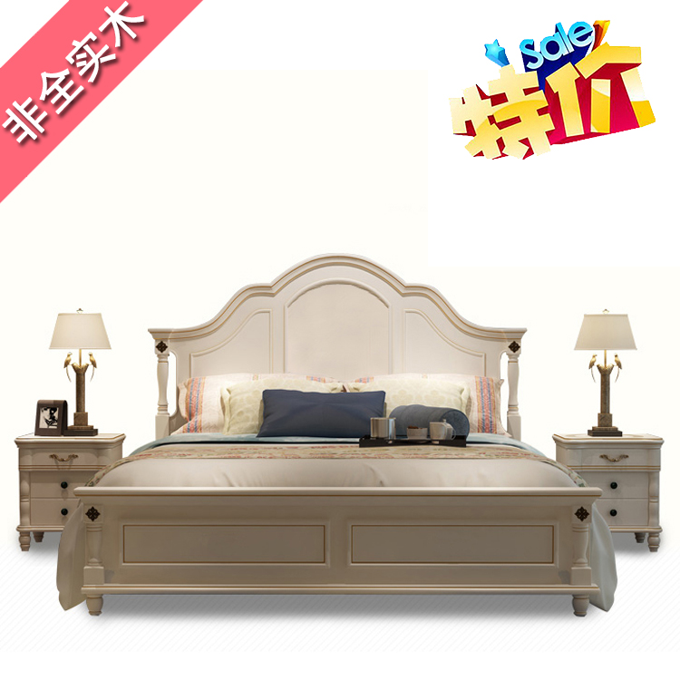 Red diamond shipping bed Randy Randy American bed bed bed double bed Quanguolianbao Korean speakers
