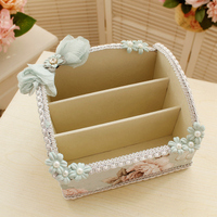 Fabric cosmetic storage box, desktop remote controller, holding basket, mobile phone remote control, storage basket