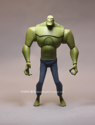 美国漫画英雄 超级反派 杀手鳄 鳄鱼怪 怪兽  人偶手办模型玩具原单