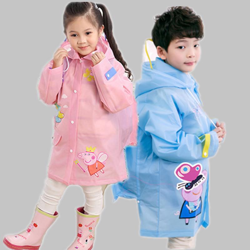 小朋友的雨衣雨鞋儿童雨具套装 男女童幼儿园加长加厚小孩子雨披