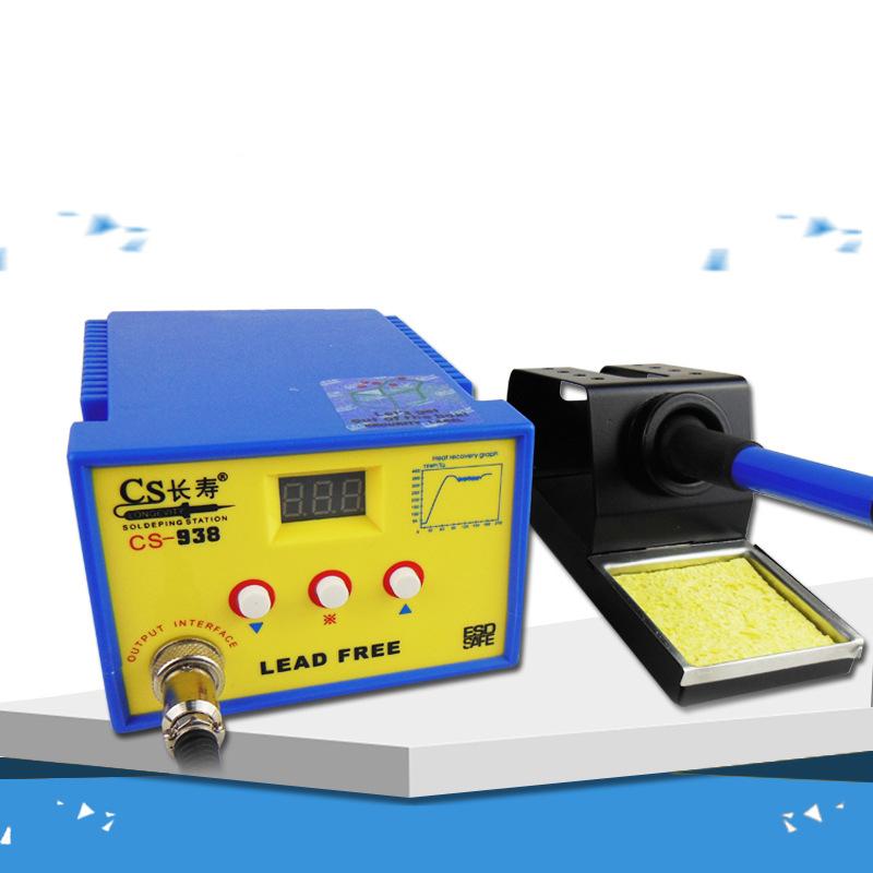 Package 938 digital display lead-free soldering platform, temperature control adjustable constant temperature electric iron, 60W handle, imported ceramic heating core