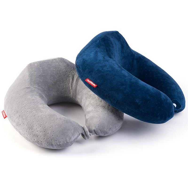 枕枕BSマシ記憶U型の飛行機の首の枕旅行車用護首環境にやさしい竹炭U枕枕護頚