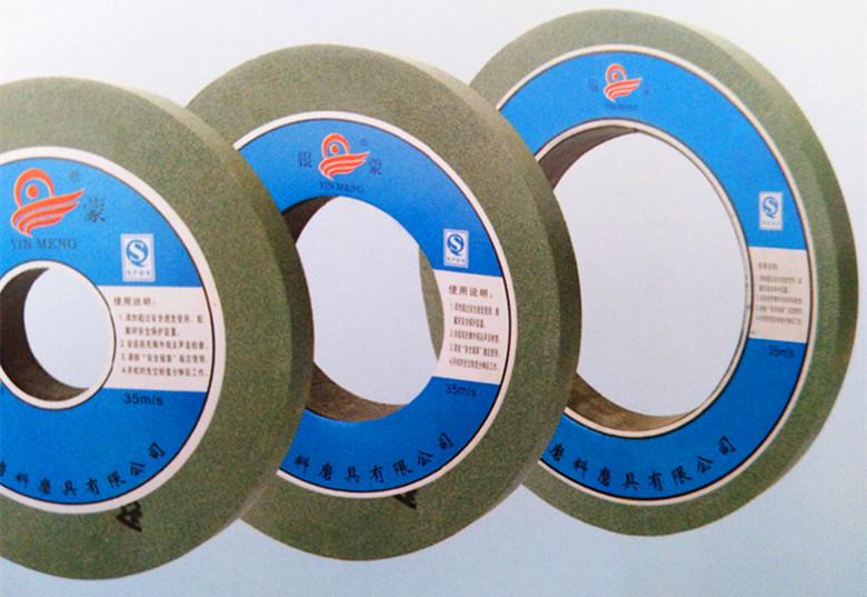 600 * 75 * 305 Corindón marrón ceniza volante Corindón blanco blanco verde verde de carburo de silicio de rueda rueda rueda