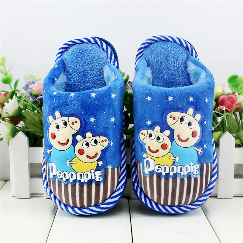 大童10岁卡通可爱9儿童棉拖鞋8冬季7女童男童小孩子保暖宝宝6棉鞋