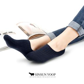 5双装夏季纯棉船袜精梳棉袜子女士隐形袜硅胶防滑豆豆鞋浅口袜