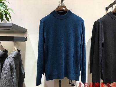 品牌促销 男士秋冬款 半高领 3色入 100%羊毛 毛衫毛衣 稍有厚度原单