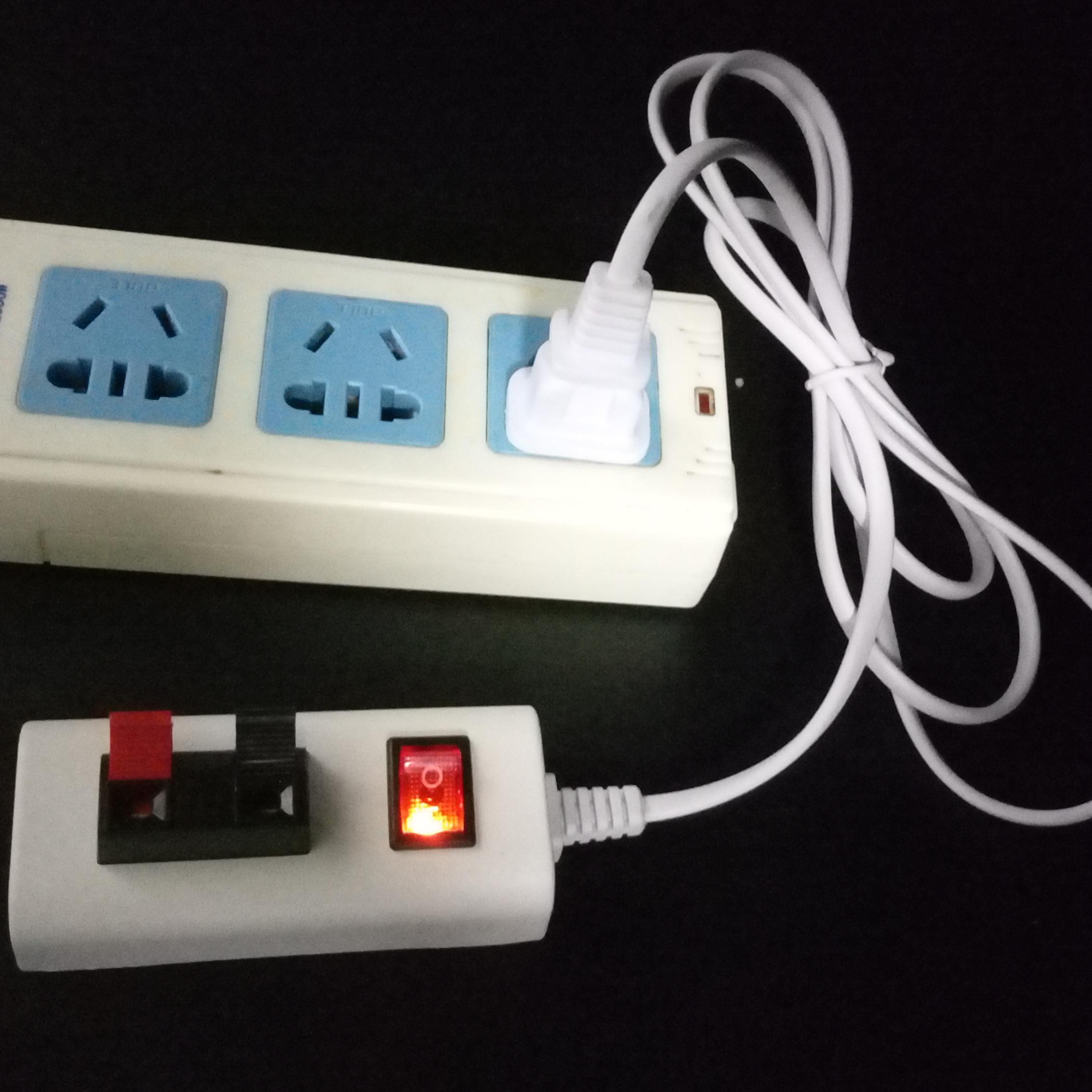Δοκιμή φανό με διακόπτη οδήγησε ένα ηλεκτρικό καλώδιο σύνδεσης φωτισμός μαγαζί ιδιοδιάταξη δοκιμής κλιπ κουτί ταχεία δοκιμή λάμπα.