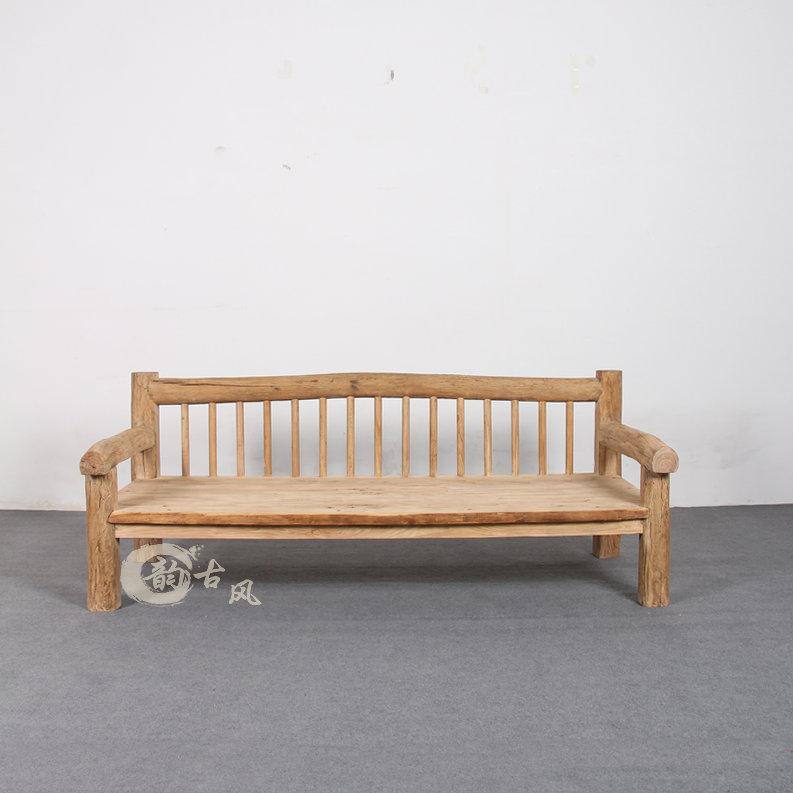 ημερολόγιο καναπέ - κρεβάτι βουκολική παλιά έπιπλα στο σαλόνι στον καναπέ του Γραφείου ΕΛΜ βαρύ κρεβάτι του ωκεανού απλό