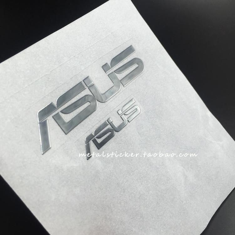 ASUSTeKのロゴメタルシールASUSノートディスプレイコンピュータのケースの金属を貼って放射能を防ぐ