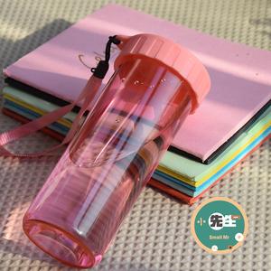 【天天特价】学生塑料水杯男女防漏水杯便携简约运动户外杯子水杯