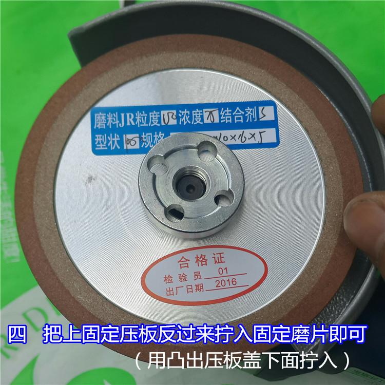 Aleación especial de disco de diamante de carpintería 100mm muela ángulo rechinando los dientes de Sierra para moler la madera
